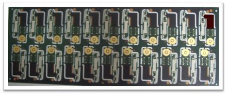 Motorola 1+2F+1 rigid flex pcb