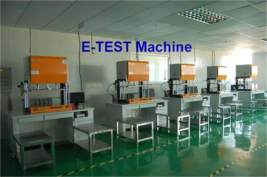 PCB E-test machine