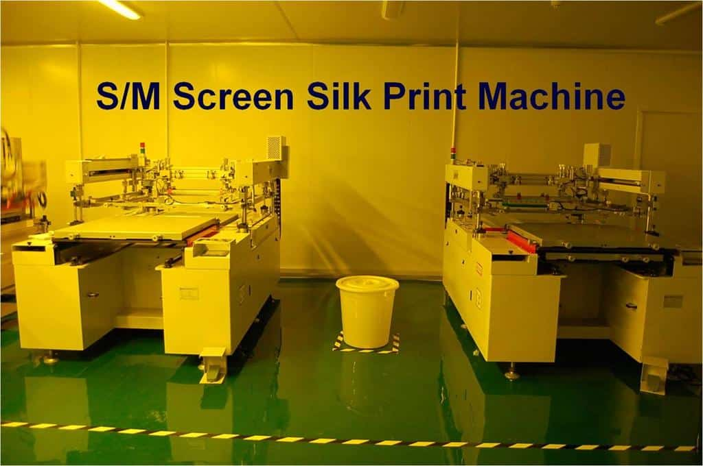 solder mask screen silk print machine