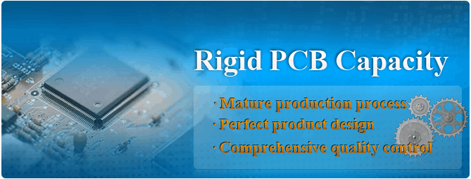 Rigid PCB Capacity