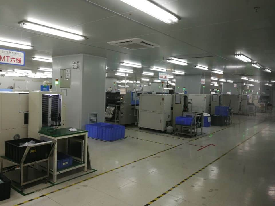 High Volume PCB Assembly line