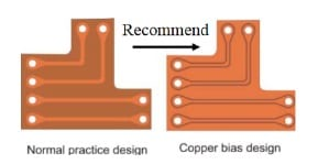 Add copper design as much as possible