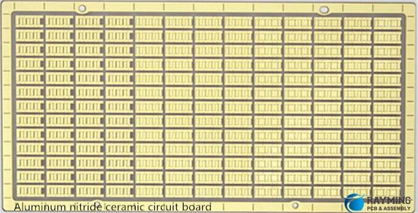 Aluminum nitride ceramic circuit board