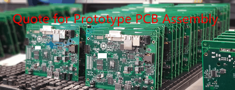 quote for prototype pcb assembly