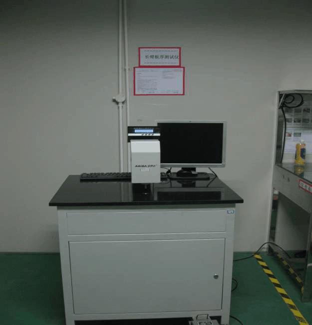 Press long-arm board thickness tester