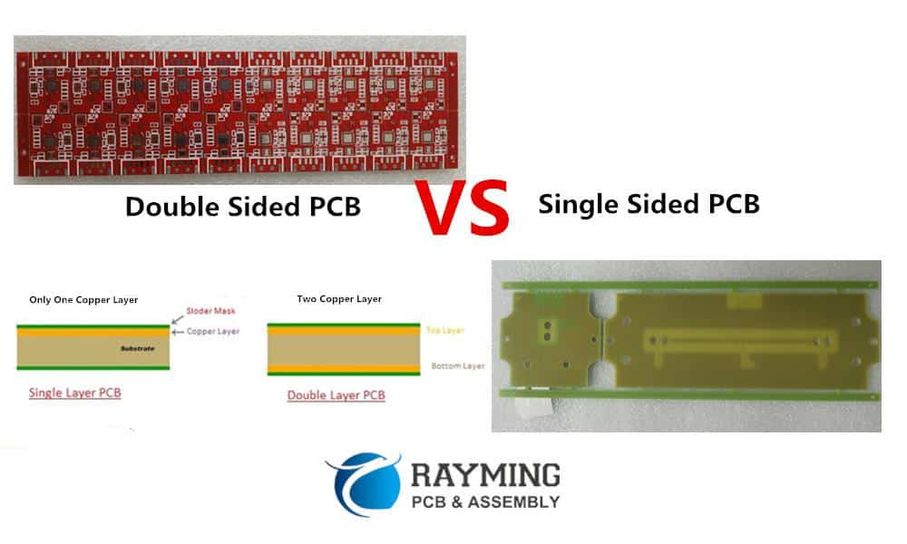 Single Sided & Double Sided PCBs