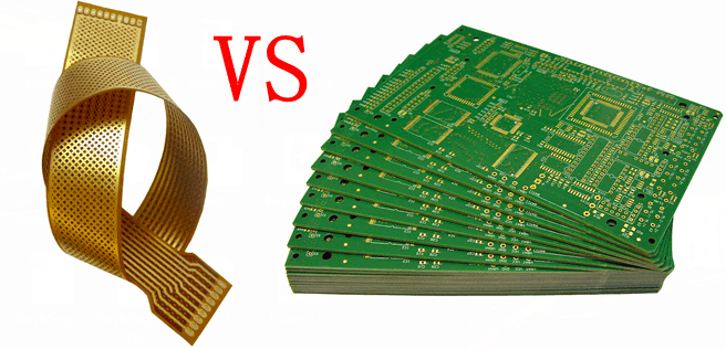 5 Differences between Rigid PCB with Flex PCB -RayMing