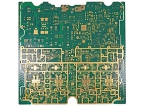 12 LAYER buried copper pcb