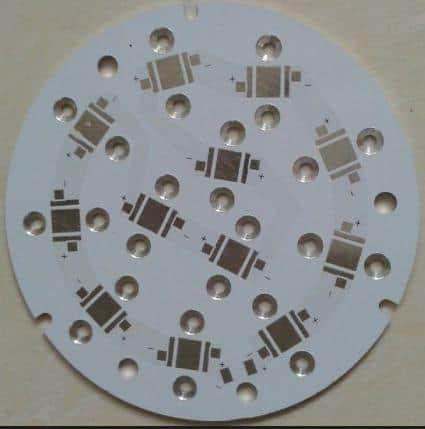 Aluminum PCB Countersink hole