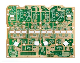 Telecom hybrid material PCB
