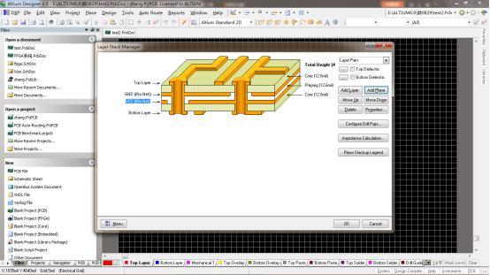 4 layer pcb stackup