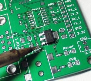 PCB Circuit board soldering