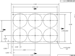 pcb assembly pannel size