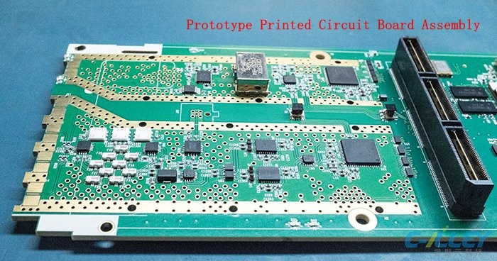 Prototype Printed Circuit Board Assembly