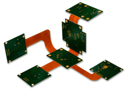 Rigid flex Printed Circuit Boards in Robot Designing