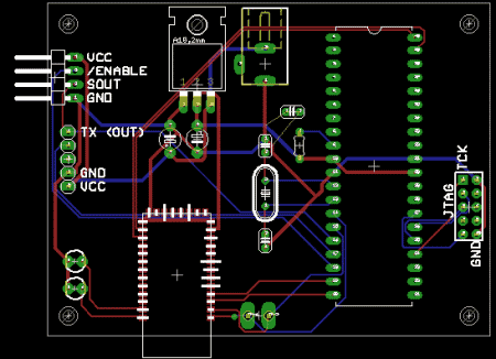 PCB layout line design