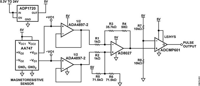 The Schematic Diagram of High Speed Sensor