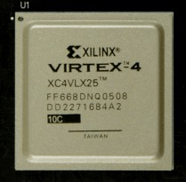 XC4VLX25-10FF668C - Feature Summary