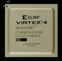 XC4VLX25-10FF668C - Feature Summary