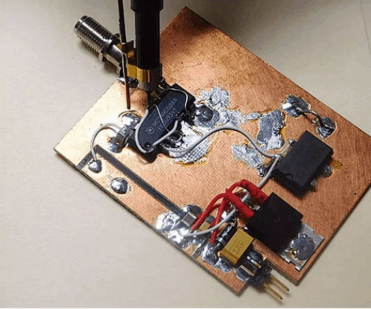 DIY rogers pcb