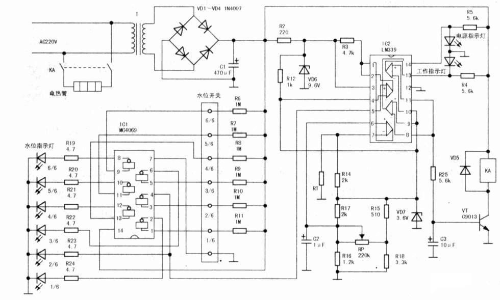 water heater schematics