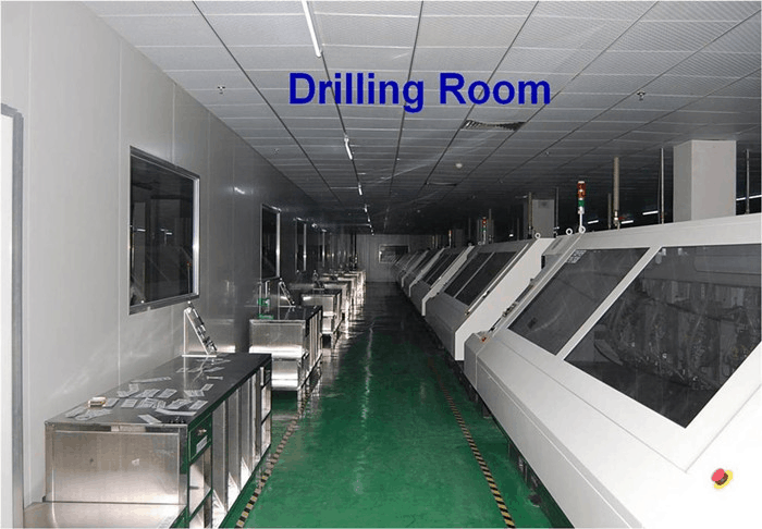 PCB drilling room