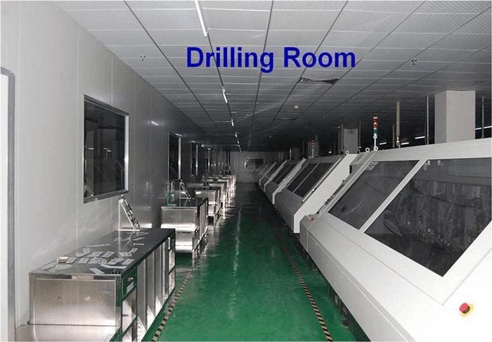 PCB drilling room