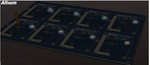 PCB panel file