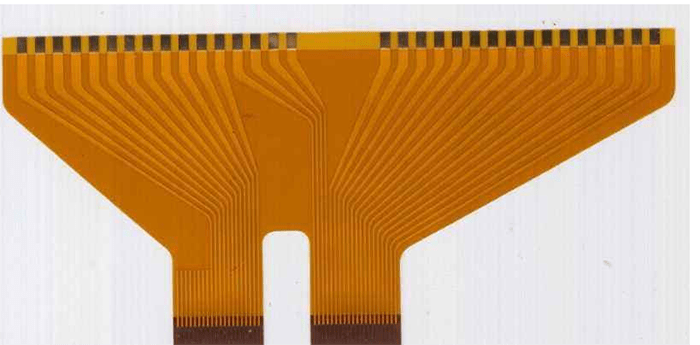 The FPC positioning silk screen should be designed at the junction between the FPC and the connector