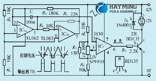 An Instrument Fan Speed Control Circuit