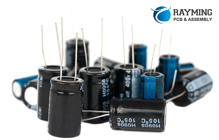 Choose a large capacitor or a small capacitor