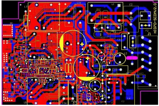 How to use PCB layered stacking to control EMI radiation