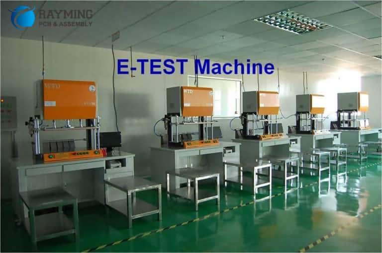 E-test machine