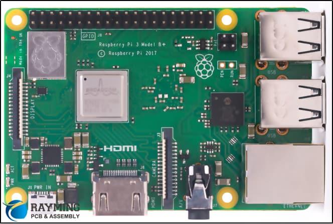 Modular Electronics of Raspberry Pi