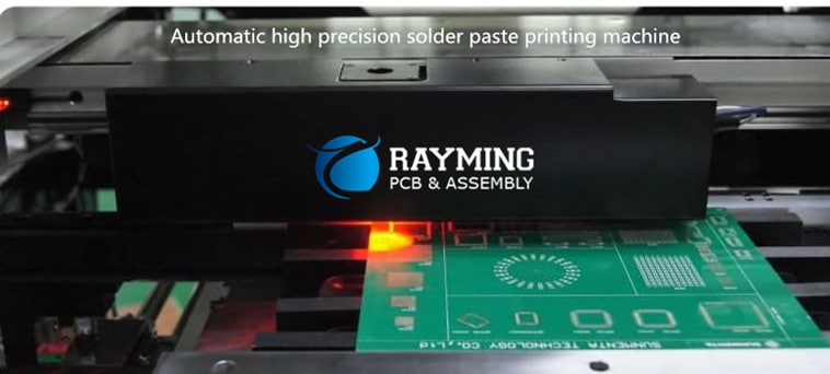 Automatic high precision solder paste printing machine