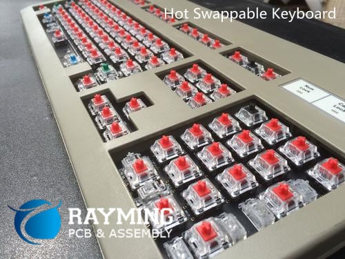 hot swappable keyboard