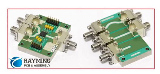 TRL calibration PCB and a PCB evaluation board