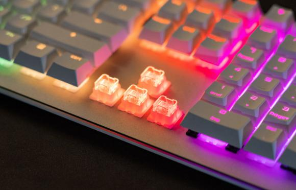 hot swappable mechanical keyboard
