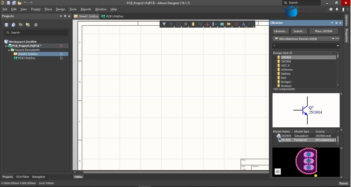2-Add Schematics and PCB