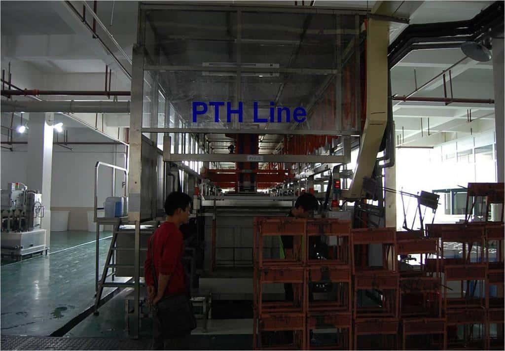 PCB PTH LIne