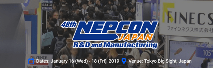 The 48th NEPCON JAPAN 2019